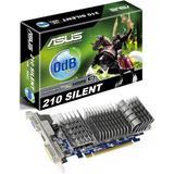 ASUS NVidia GeForce GT 210 [EN210 SILENT/DI/1GD3/V2 (LP)] - VGA Card NVIDIA